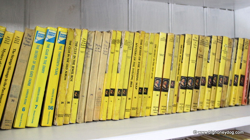 My beloved Nancy Drew collection!
