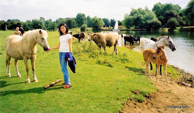 (here's me enjoying a Sunday morning walk in Oxford's Port Meadow...)