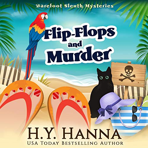 Audiobook cover for Flip-Flops and Murder by H.Y. Hanna
