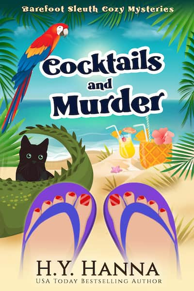 Book cover for Cocktails and Murder by H.Y. Hanna