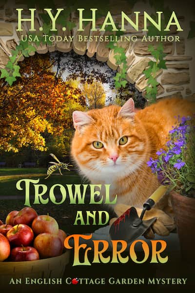 Book cover for Trowel and Error by H.Y. Hanna